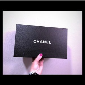 Chanel Box Empty with Chanel Ribbon
